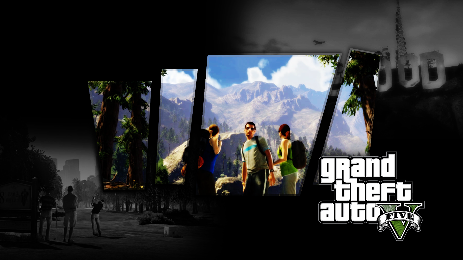 A mix of gta grand theft auto wallpapers c town gaming - Gta v wallpaper ...