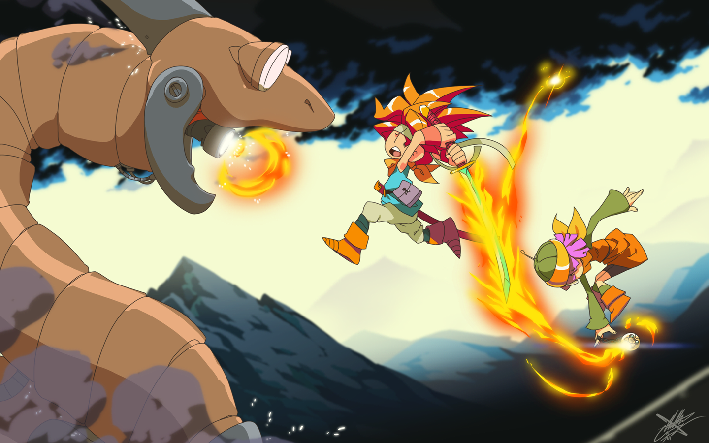 Chrono Trigger Wallpapers C Town Gaming